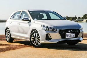 2018 Hyundai i30 PD2 MY18 Active Silver 6 Speed Sports Automatic Hatchback Bunbury Bunbury Area Preview