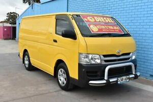 2007 Toyota HiAce KDH201R MY07 Upgrade LWB Yellow 4 Speed Automatic Van Enfield Port Adelaide Area Preview
