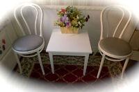 Set véranda allure champêtre! Table à café, 2  chaises IKÉA 90$ Laval / North Shore Greater Montréal Preview