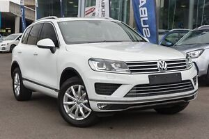 2014 Volkswagen Touareg 7P MY15 V6 TDI Tiptronic 4MOTION White 8 Speed Sports Automatic Wagon Brookvale Manly Area Preview
