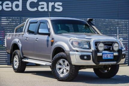 2010 Ford Ranger PK XLT Crew Cab Grey 5 Speed Automatic Utility