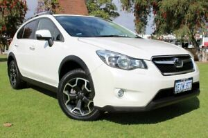 2013 Subaru XV G4X MY13 2.0i-S Lineartronic AWD White 6 Speed Constant Variable Wagon Victoria Park Victoria Park Area Preview