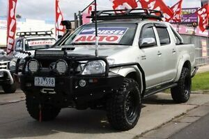 2010 Toyota Hilux KUN26R MY10 SR5 Silver 4 Speed Automatic Utility Altona North Hobsons Bay Area Preview