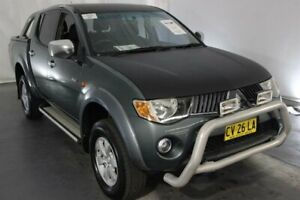 2006 Mitsubishi Triton ML MY07 GLX-R Double Cab Green 5 Speed Manual Utility Maryville Newcastle Area Preview