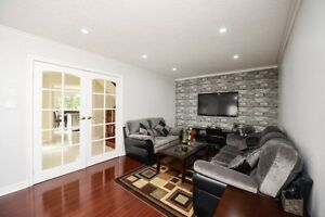 Stunning 3+1 B/R Freehold T/H With Fin Bsm Near Brampton Civic