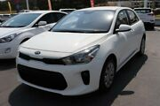2017 Kia Rio YB MY17 S White 4 Speed Sports Automatic Hatchback Underwood Logan Area Preview