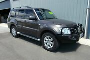 2012 Mitsubishi Pajero NW MY12 GLS LWB (4x4) Ironbark 5 Speed Auto Sports Mode Wagon Hackham Morphett Vale Area Preview