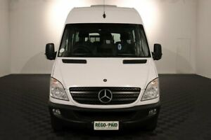 2012 Mercedes-Benz Sprinter NCV3 MY12 316CDI Low Roof MWB 7G-Tronic Transfer White 7 Speed Acacia Ridge Brisbane South West Preview