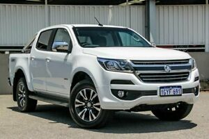 2019 Holden Colorado RG MY19 LTZ Pickup Crew Cab White Manual Utility