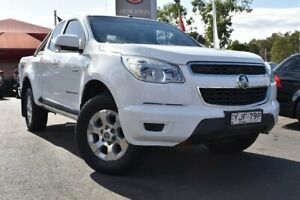2013 Holden Colorado RG MY14 LT Crew Cab White 6 Speed Manual Utility Tuggerah Wyong Area Preview