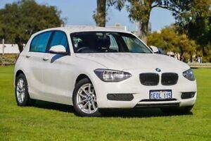 2014 BMW 116i F20 MY0314 Steptronic Alpine White 8 Speed Sports Automatic Hatchback Burswood Victoria Park Area Preview