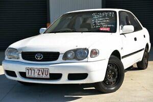 2000 Toyota Corolla AE112R Ascent White 5 Speed Manual Sedan Hendra Brisbane North East Preview