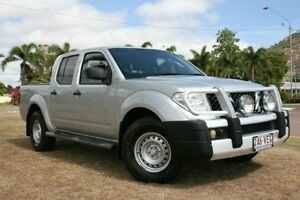 2011 Nissan Navara D40 MY11 RX Silver 5 Speed Automatic Utility Townsville Townsville City Preview