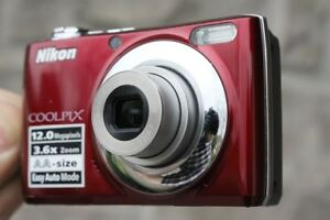 Nikon Coolpix L22 - Digital camera - compact - 12.0 MP - 3.6 x o