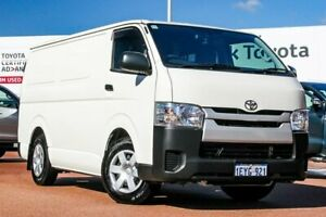 2015 Toyota HiAce KDH201R LWB French Vanilla 5 Speed Manual Van