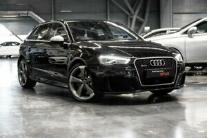2016 Audi RS3 8V (No Badge) Black Sports Automatic Dual Clutch Westmeadows Hume Area Preview