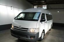 2009 Toyota Hiace KDH223R MY07 Upgrade Commuter White 5 Speed Manual Bus Pennington Charles Sturt Area Preview