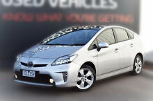 2015 Toyota Prius ZVW30R MY12 I-Tech Silver Pearl 1 Speed Constant Variable Liftback Berwick Casey Area Preview