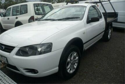 2008 Ford Falcon BF MkII RTV White 4 Speed Auto Seq Sportshift Cab Chassis Bayswater North Maroondah Area Preview