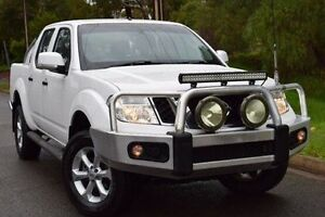 2013 Nissan Navara D40 S6 MY12 ST White 5 Speed Sports Automatic Utility St Marys Mitcham Area Preview