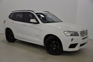 2012 BMW X3 F25 MY0412 xDrive30d Steptronic White 8 Speed Automatic Wagon Mansfield Brisbane South East Preview