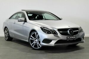 2013 Mercedes-Benz E-Class C207 MY13 E400 7G-Tronic + Silver 7 Speed Sports Automatic Coupe Bayswater Bayswater Area Preview