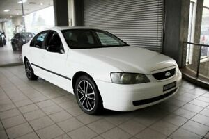 2003 Ford Falcon BA XT Winter White 4 Speed Auto Seq Sportshift Sedan Thornleigh Hornsby Area Preview