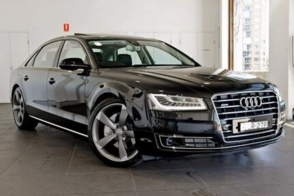 2017 Audi A8 4H MY17 L LWB Tiptronic quattro Black 8 Speed Sports Automatic Sedan