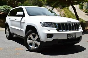 2012 Jeep Grand Cherokee WK MY2012 Laredo Bright White 5 Speed Sports Automatic Wagon St Marys Mitcham Area Preview