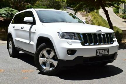 2012 Jeep Grand Cherokee WK MY2012 Laredo Bright White 5 Speed Sports Automatic Wagon St Marys Mitcham Area Preview