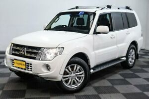 2013 Mitsubishi Pajero NW MY13 VR-X White 5 Speed Sports Automatic Wagon Edgewater Joondalup Area Preview
