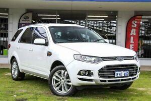 2013 Ford Territory SZ TS Seq Sport Shift White 6 Speed Sports Automatic Wagon Victoria Park Victoria Park Area Preview