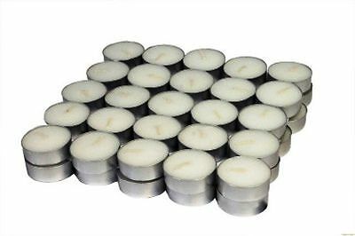 Candles 100 Tea Lights Set White Candles of Best Quality best for Home
