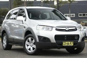 2011 Holden Captiva CG Series II 7 SX Silver 6 Speed Sports Automatic Wagon Condell Park Bankstown Area Preview