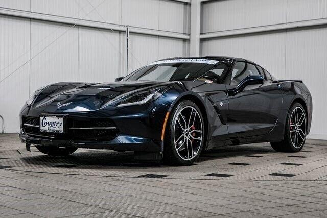2015 Black Chevrolet Corvette Stingray Z51   C7 Corvette Photo 3