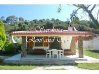 South - Sardinia,Chia, 6 sleeps,garden,