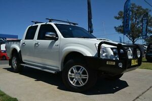 2011 Isuzu D-MAX TF MY10 LS-U (4x4) White 5 Speed Manual Crewcab Mulgrave Hawkesbury Area Preview