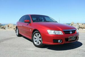 2005 Holden Berlina VZ Red 4 Speed Automatic Sedan Lonsdale Morphett Vale Area Preview