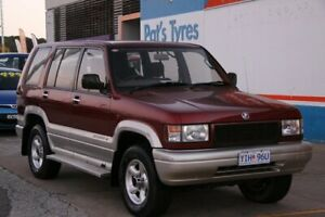 1997 Holden Jackaroo SE LWB (4x4) Maroon 4 Speed Automatic 4x4 Wagon Fyshwick South Canberra Preview