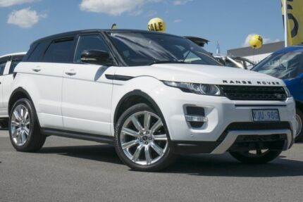 2013 Land Rover Range Rover Evoque L538 MY13 TD4 CommandShift Pure Fuji White 6 Speed Pearce Woden Valley Preview