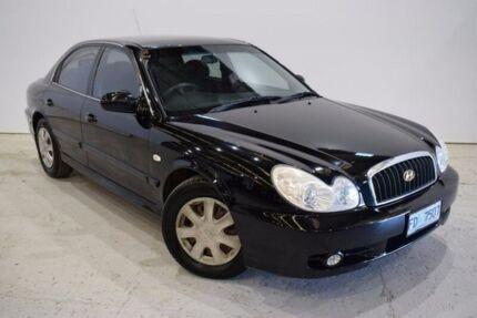 2003 Hyundai Sonata EF-B Black 4 Speed Sports Automatic Sedan