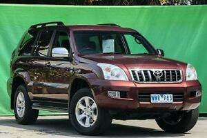 2008 Toyota Landcruiser Prado KDJ120R GXL 5 Speed Automatic Wagon Ringwood East Maroondah Area Preview
