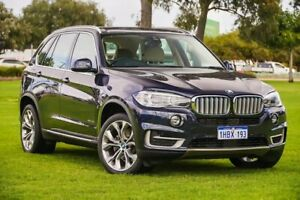 2017 BMW X5 F15 xDrive40e iPerformance Blue /beige 8 Speed Sports Automatic Wagon Hybrid Burswood Victoria Park Area Preview