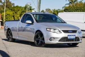 2011 Ford Falcon FG XR6 Ute Super Cab Turbo Silver 6 Speed Manual Utility