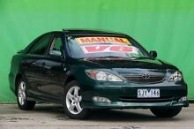 2003 Toyota Camry MCV36R Sportivo Green 5 Speed Manual Sedan Ringwood East Maroondah Area Preview