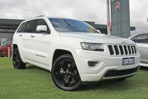 2014 Jeep Grand Cherokee WK MY2014 Overland White 8 Speed Sports Automatic Wagon Wangara Wanneroo Area Preview