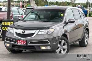 2012 Acura MDX ***TECH PACKAGE***NAVI***POWER ROOF***