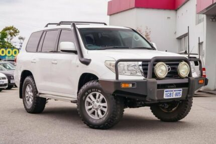 2007 Toyota Landcruiser VDJ200R GXL White 6 Speed Sports Automatic Wagon Myaree Melville Area Preview