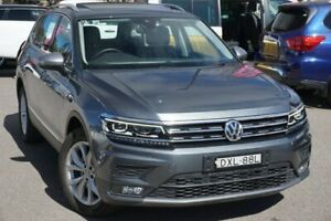 2018 Volkswagen Tiguan 5N MY18 132TSI Comfortline DSG 4MOTION Allspace Grey 7 Speed Phillip Woden Valley Preview