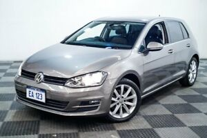 2015 Volkswagen Golf AU MY16 110 TSI Highline Grey 7 Speed Auto Direct Shift Hatchback Edgewater Joondalup Area Preview
